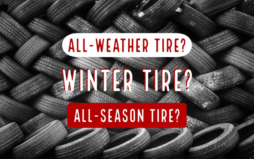 What is the Difference between an All-Season Tire, a Winter Tire, and an All-Weather Tire?