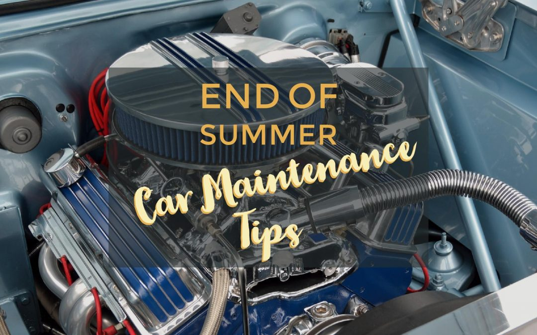 End of Summer Car Maintenance