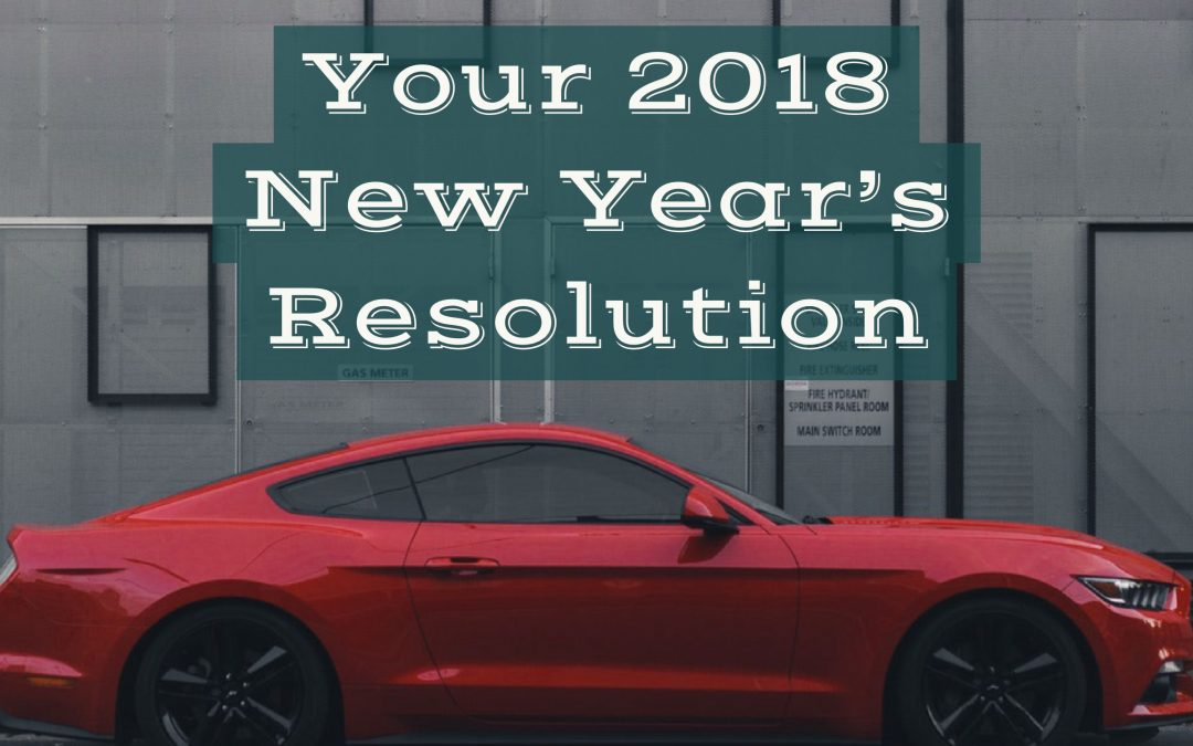 New Year = New Year's Resolutions for Car Maintenance