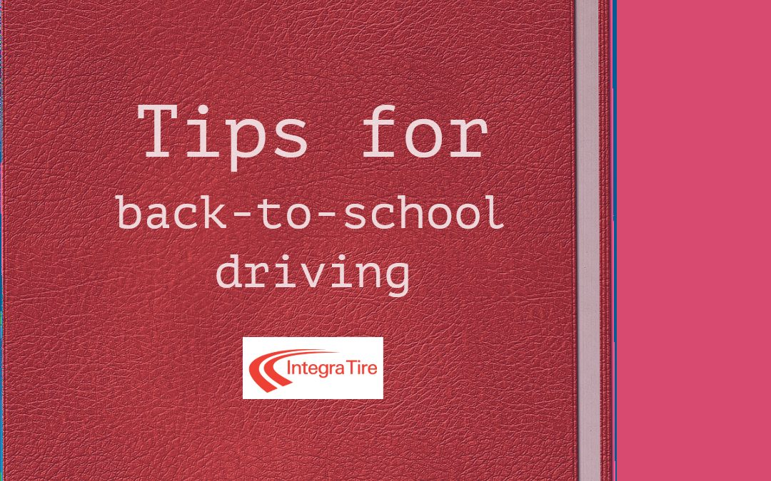 Tips for Back-to-School Driving