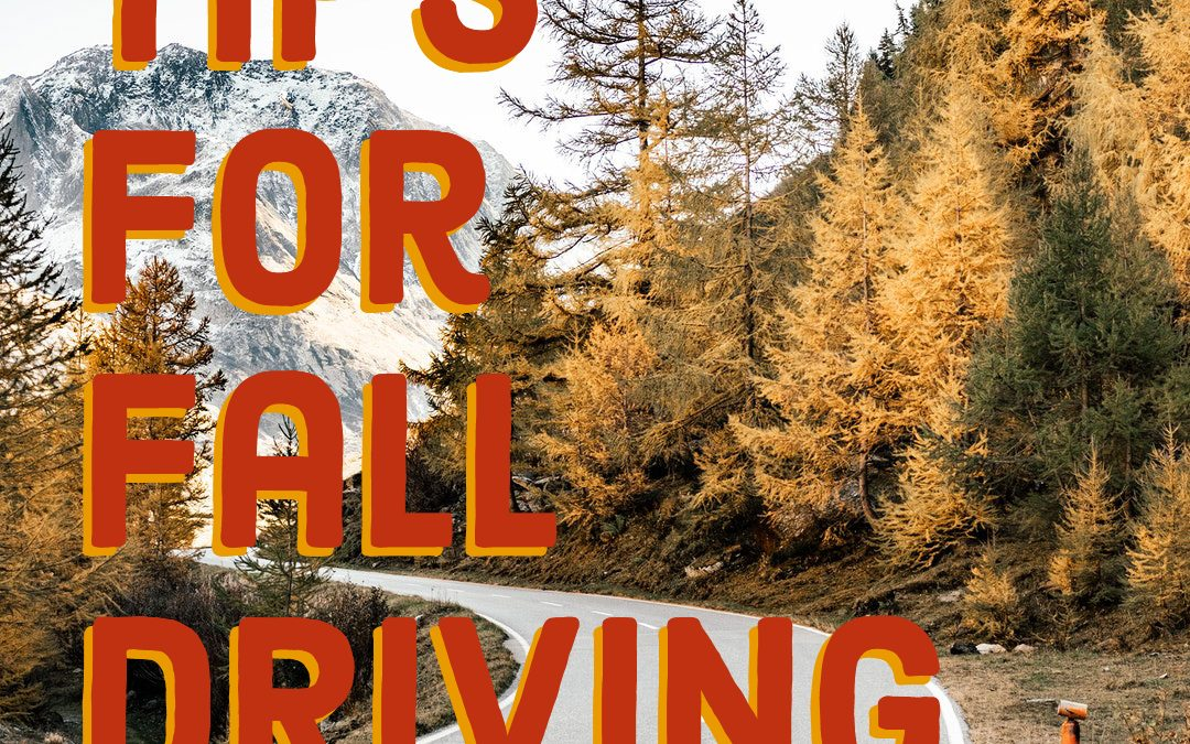 Tips for Fall Driving
